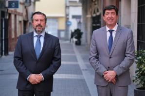 El vicepresidente y consejero de turismo y justicia de la Junta de Andalucía, Juan Marín