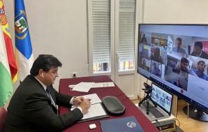 Foto alcalde Consejo de Administración de la APH